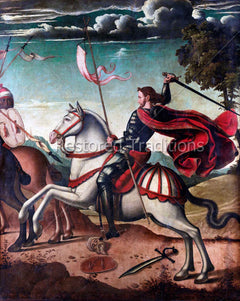 St  James the Great at the Battle of Clavijo