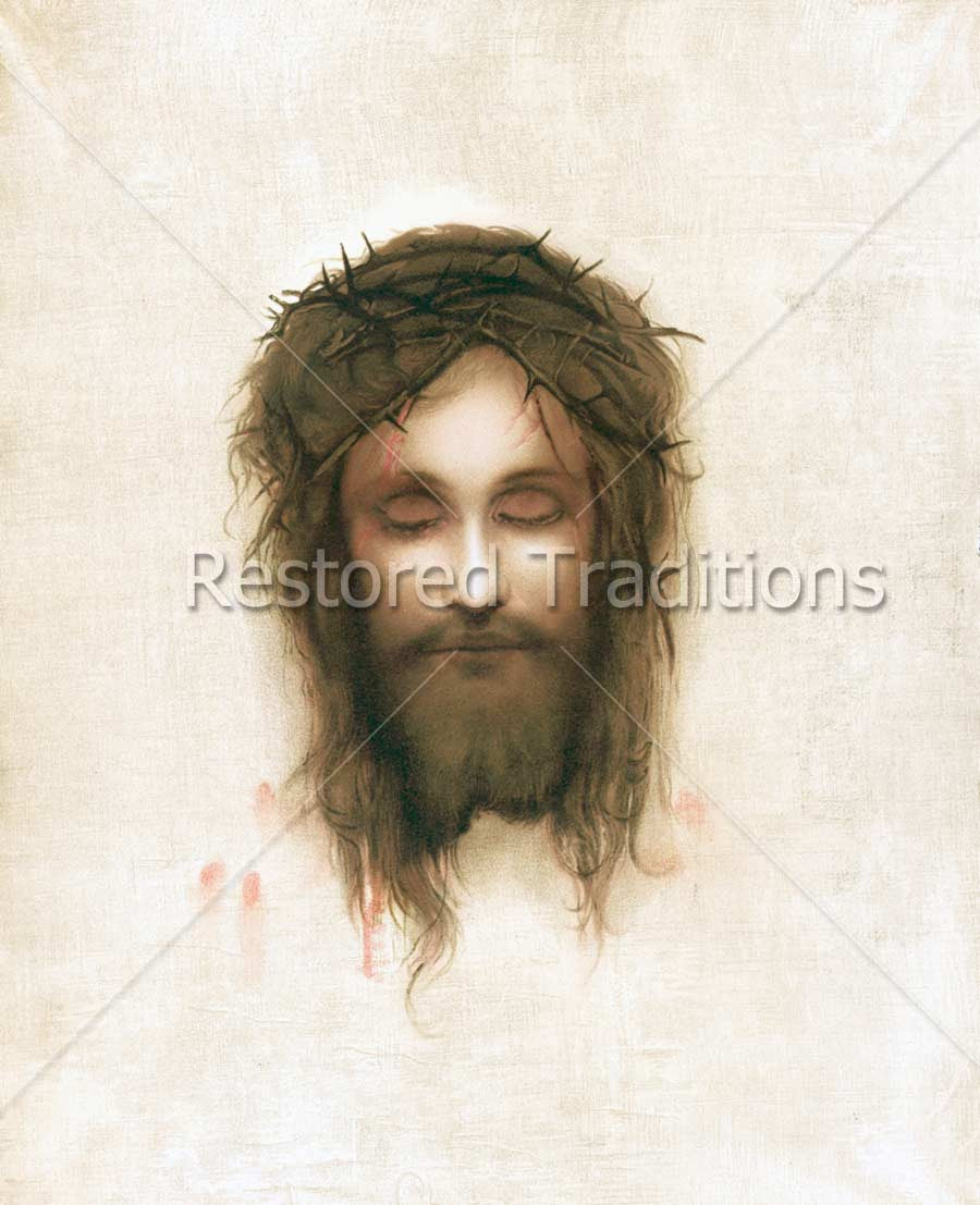 Turin High Gloss White Vanity Unit Bathroom Suite With: The Shroud Of Turin (Face Of Jesus