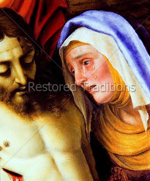 Madonna Weeping over Jesus