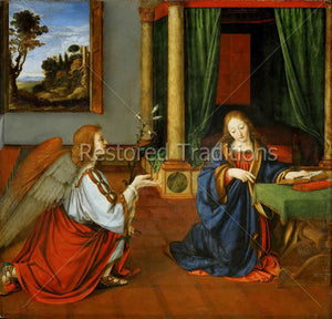 Annunciation of Gabriel to Mary