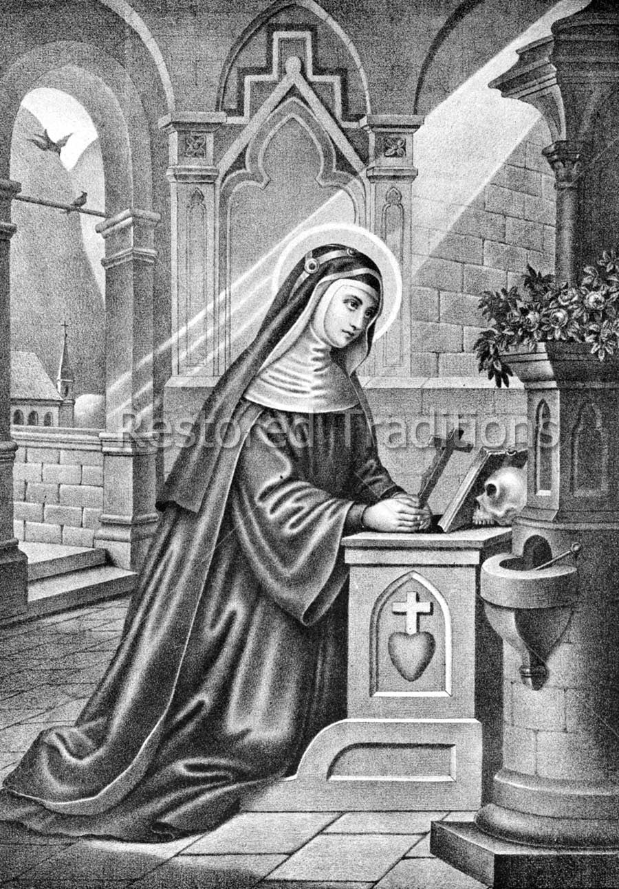 Saint Bridget, Catholic Nun