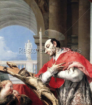 Carlo Borromeo Praying