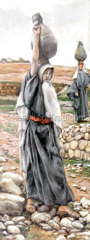 Mary Carrying Water Jar