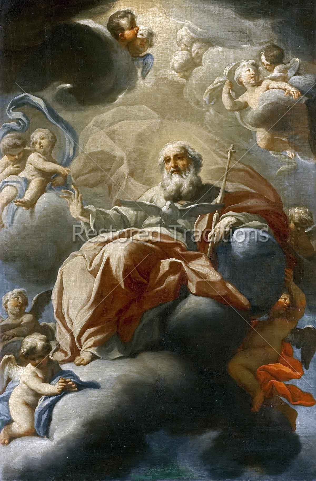 God the Father and the Holy Ghost by Vaccaro | High-Res Download