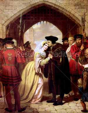 Sir Thomas More saying goodbye to daughter