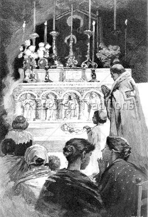 Beginning of Catholic Mass