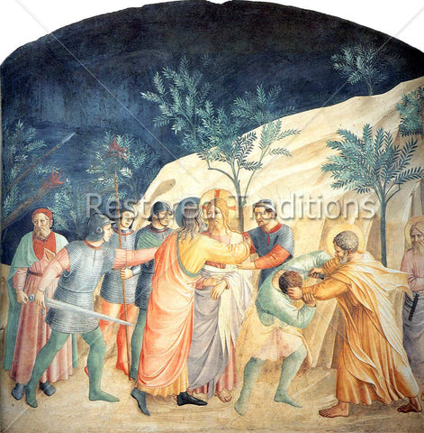 Judas Betrays Jesus