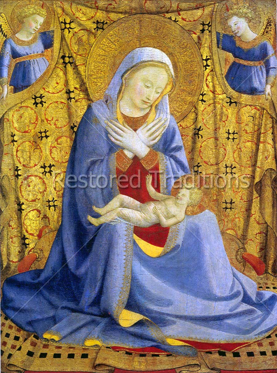 Virgin Mary and Infant Jesus