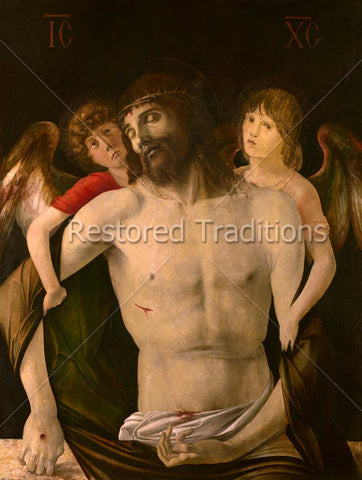 Angels Weep Over Death of Jesus