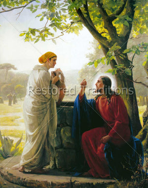 Christ Talking to Woman at Well