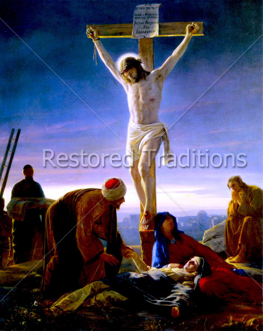 Christ Hanging on Cross