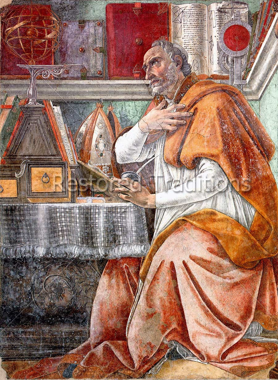 Augustine of Hippo in Study