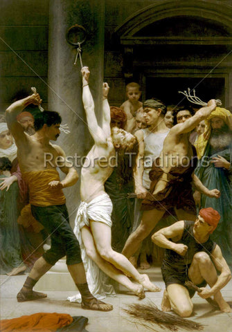 Jesus Scourged at Pillar