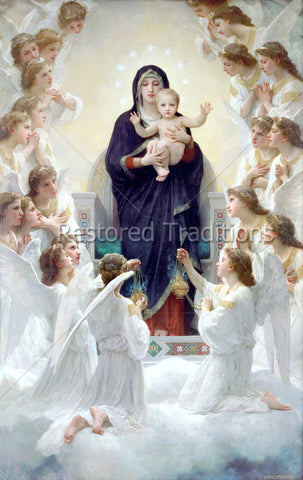 Madonna Surrounded by Angels