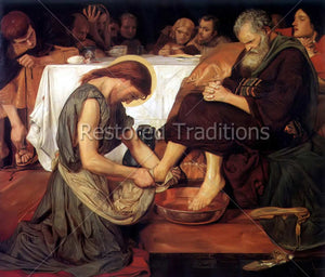 Washing Feet Maundy Thursday