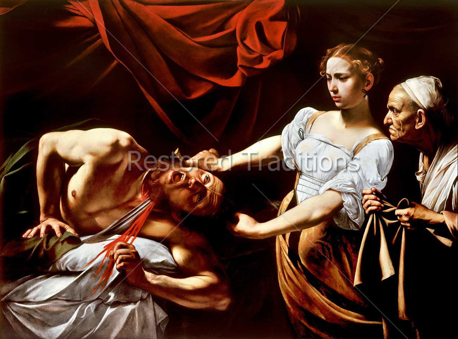 Judith Cuts Head of Holofernes