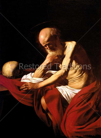 Saint Jerome Praying
