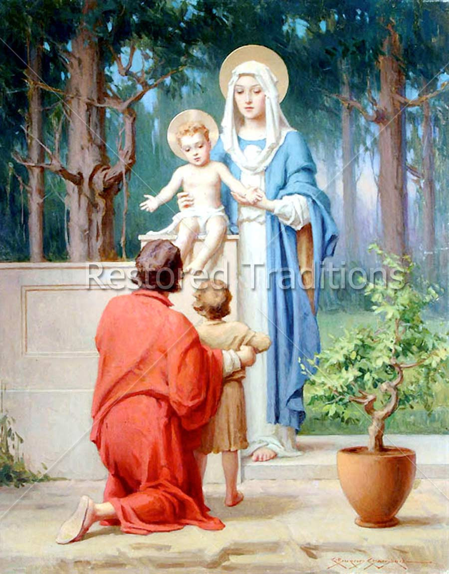Madonna and Child with Joseph and John