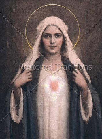 Mother Mary Portrait