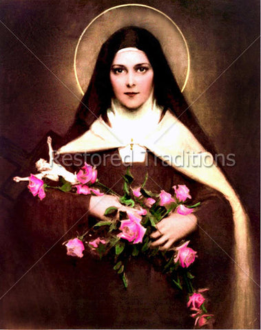 Saint Therese Portrait