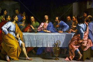 Christ Institutes Eucharist