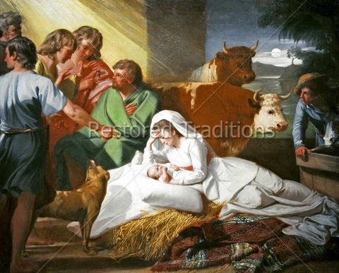 Birth of Christ in Bethlehem