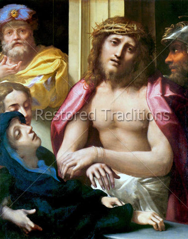 Christ and Sorrowful Madonna