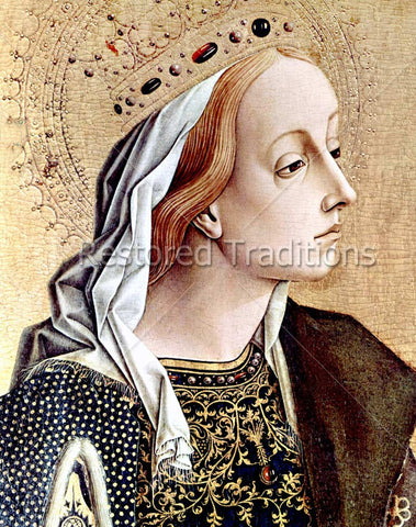 Portrait of Saint Catherine