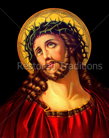 Jesus with Crown of Thorns