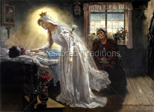 Mary healing sick husband