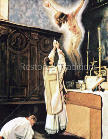 Consecration at Catholic Mass