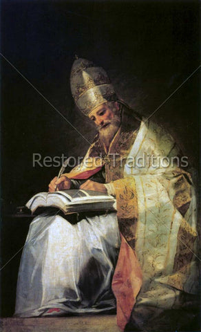 St. Gregory the Great – Goya