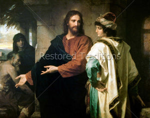 Jesus Speaking with Rich Young Man