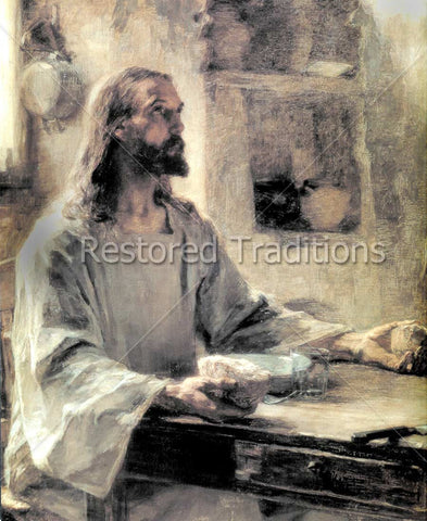 Christ Breaking Bread