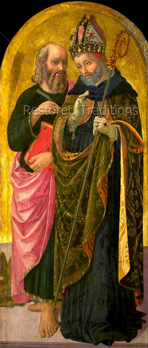 Bishop Augustine and Apostle Mark