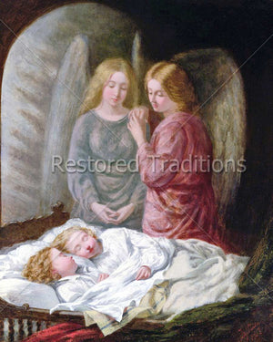 Angels Watch Sleeping Children