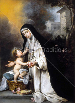 Saint Rose and Child Jesus