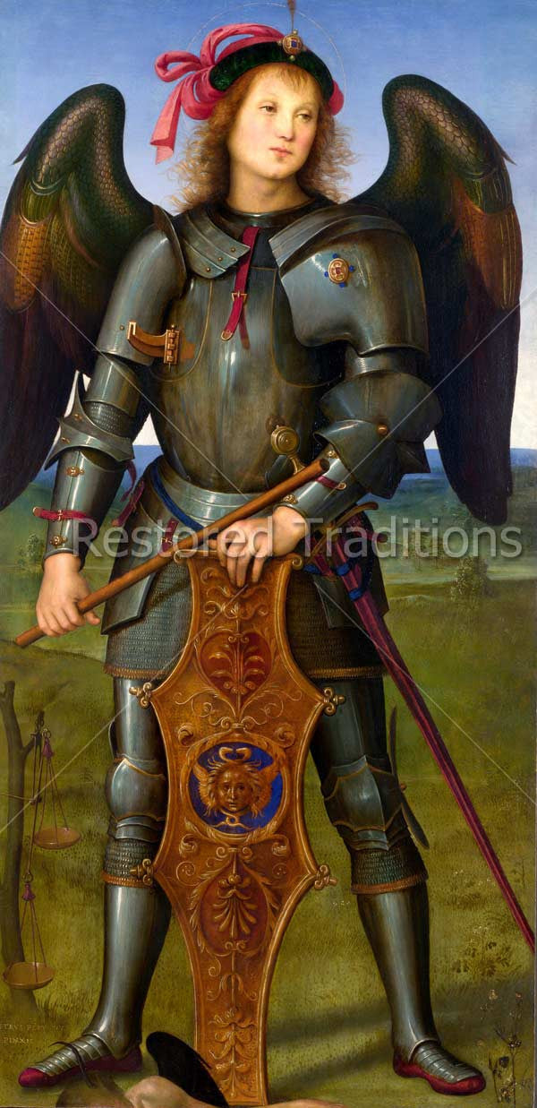 Saint Michael in Body Armor