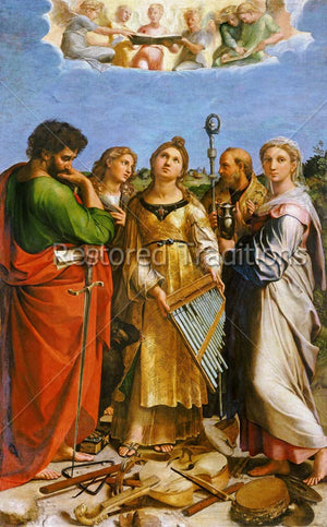 Saint Cecilia, Patroness of Music