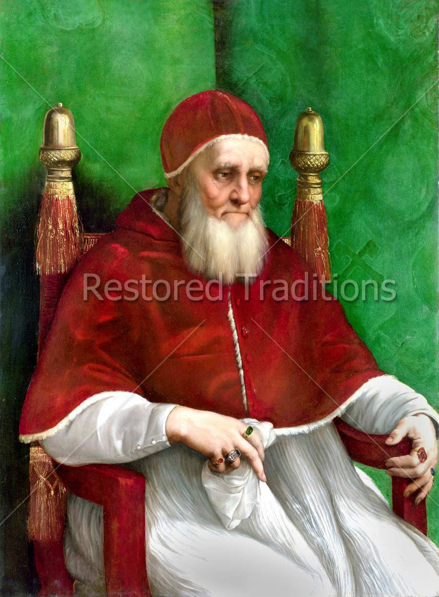 Painting Pope Julius 2