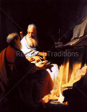 Peter and Paul Talking