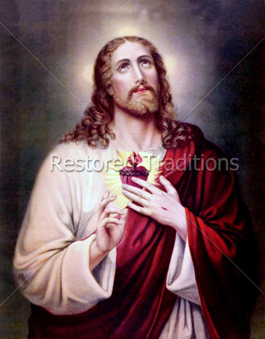 Antique Illustration of Jesus