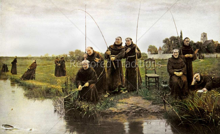 Catholic Monks Fishing