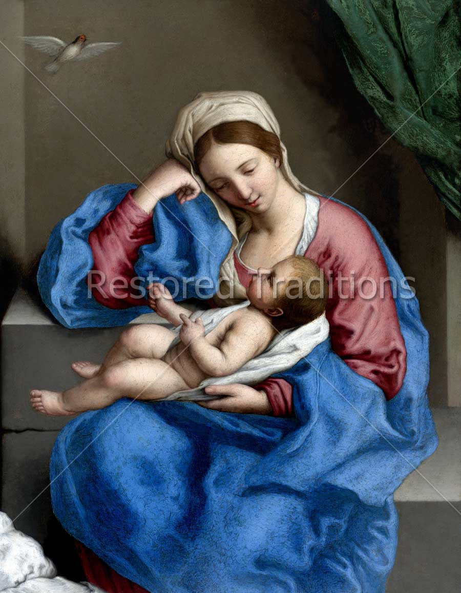 Virgin Mary with Baby Jesus