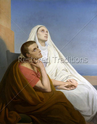Augustine of Hippo and His Mother