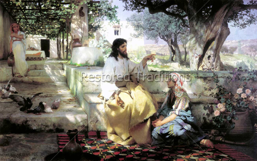 Jesus Speaking With Mary Magdalene