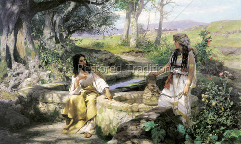 Jesus Speaking to Woman at Well