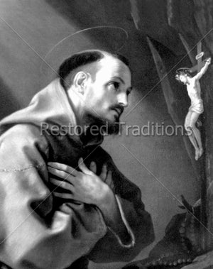 Francis of Assisi Praying