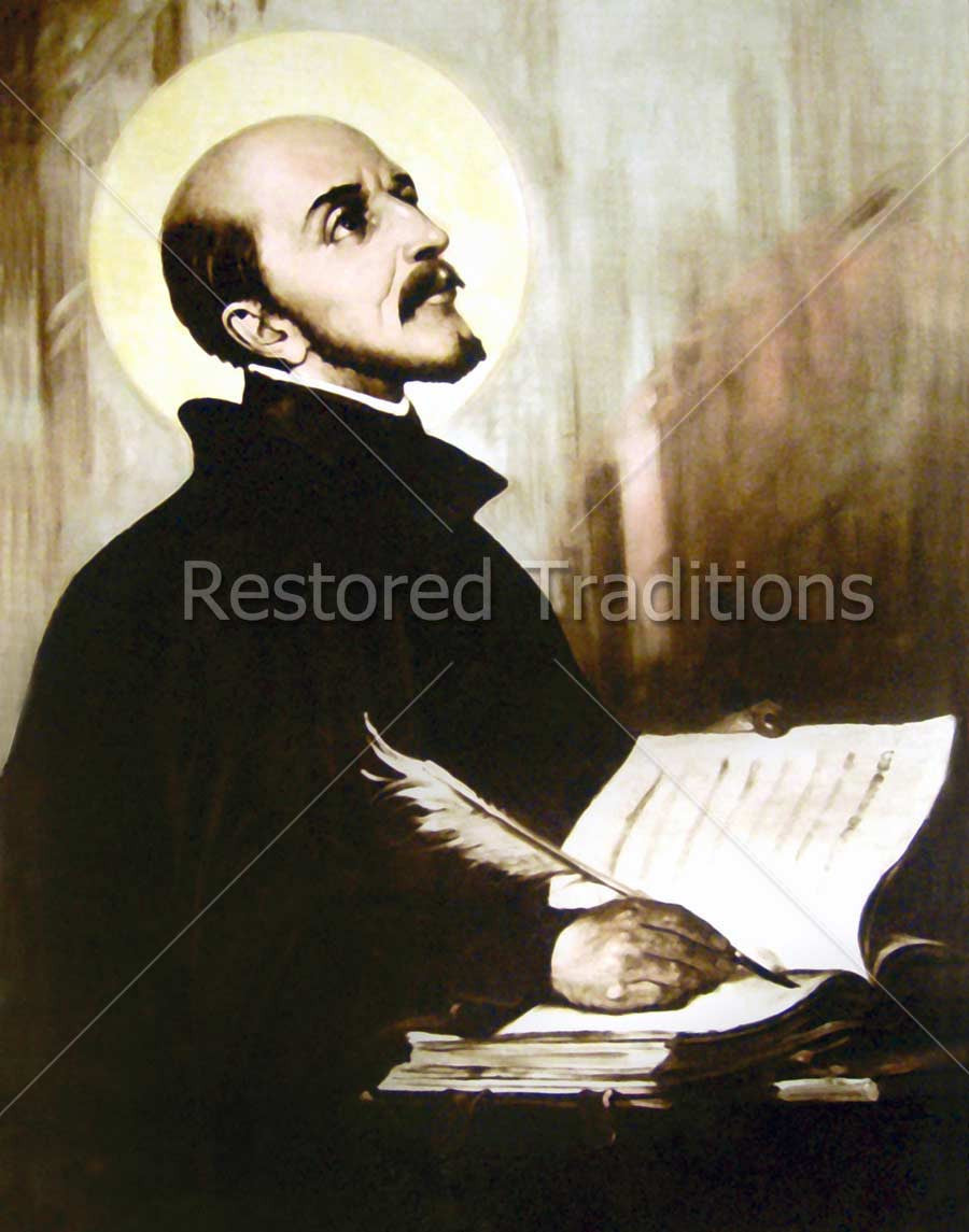Ignatius Loyola Writing