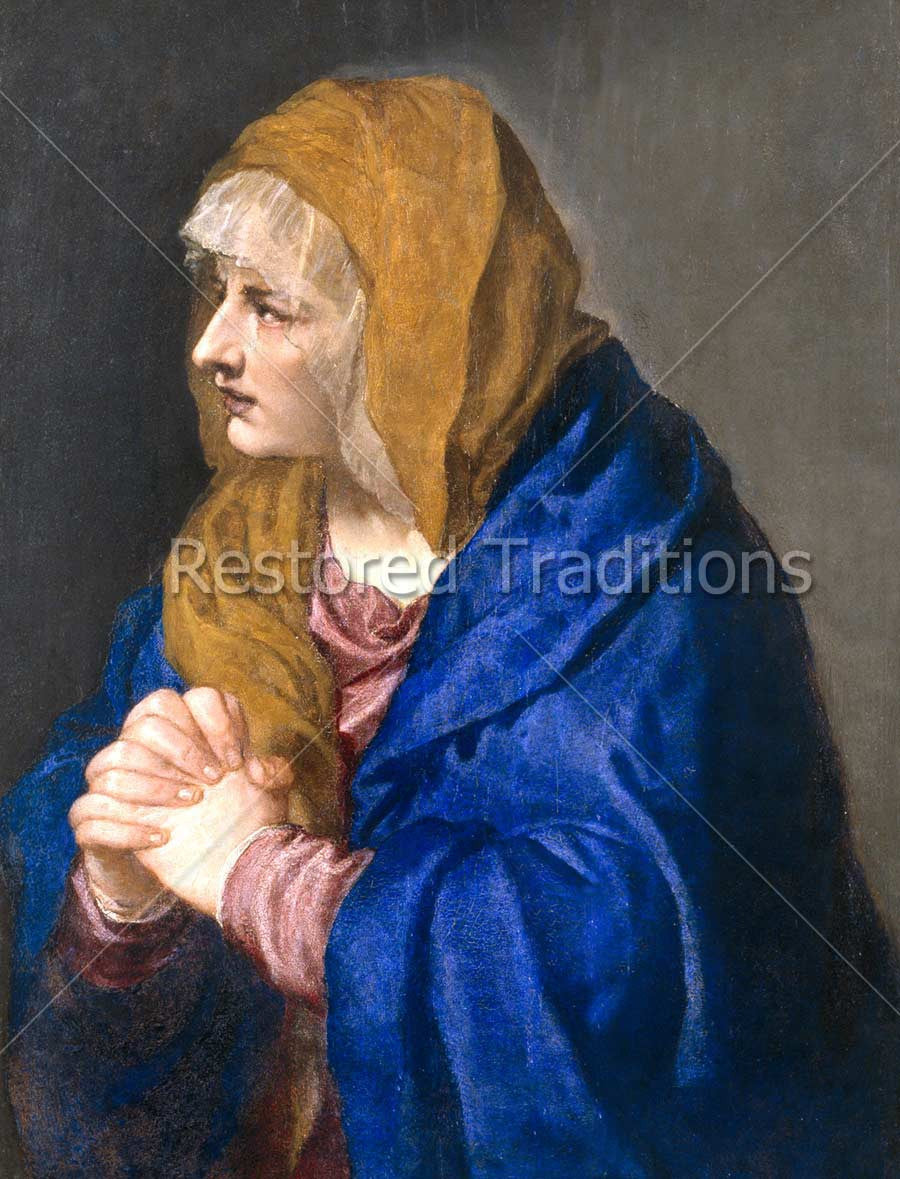Sorrowful Virgin Mary